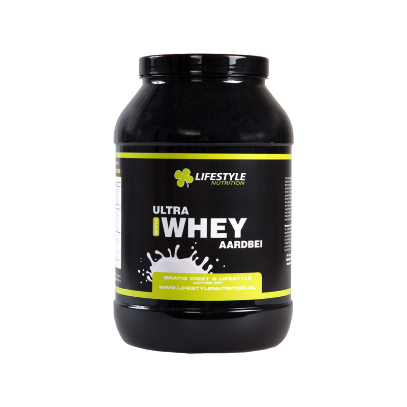 Lifestyle Nutrition - Whey aardbei